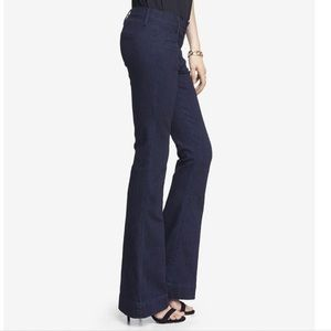 Express Slim Flare Mia Mid-Rise Jeans